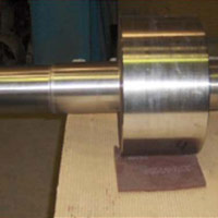 Repair of trunnion after finishing